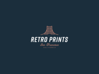 30 Day Logo Challenge X - Retro Prints