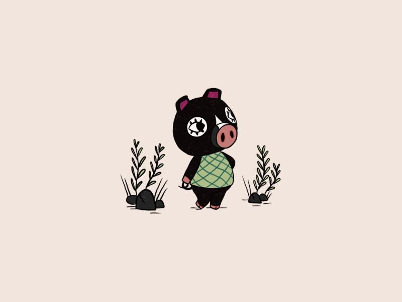 Animal Crossing: Hello Agnes! 🐷