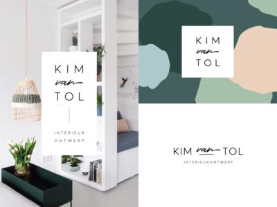 Kim van Tol Interior Design: Logo Scalability