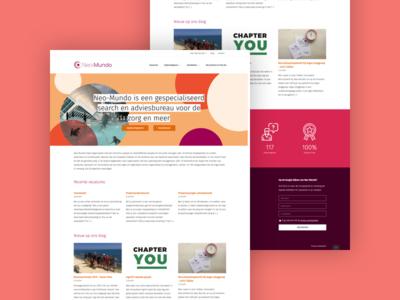 Neo-Mundo: New website