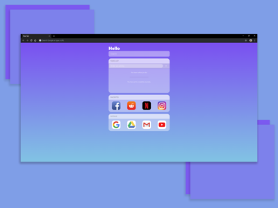 iOS Startpage