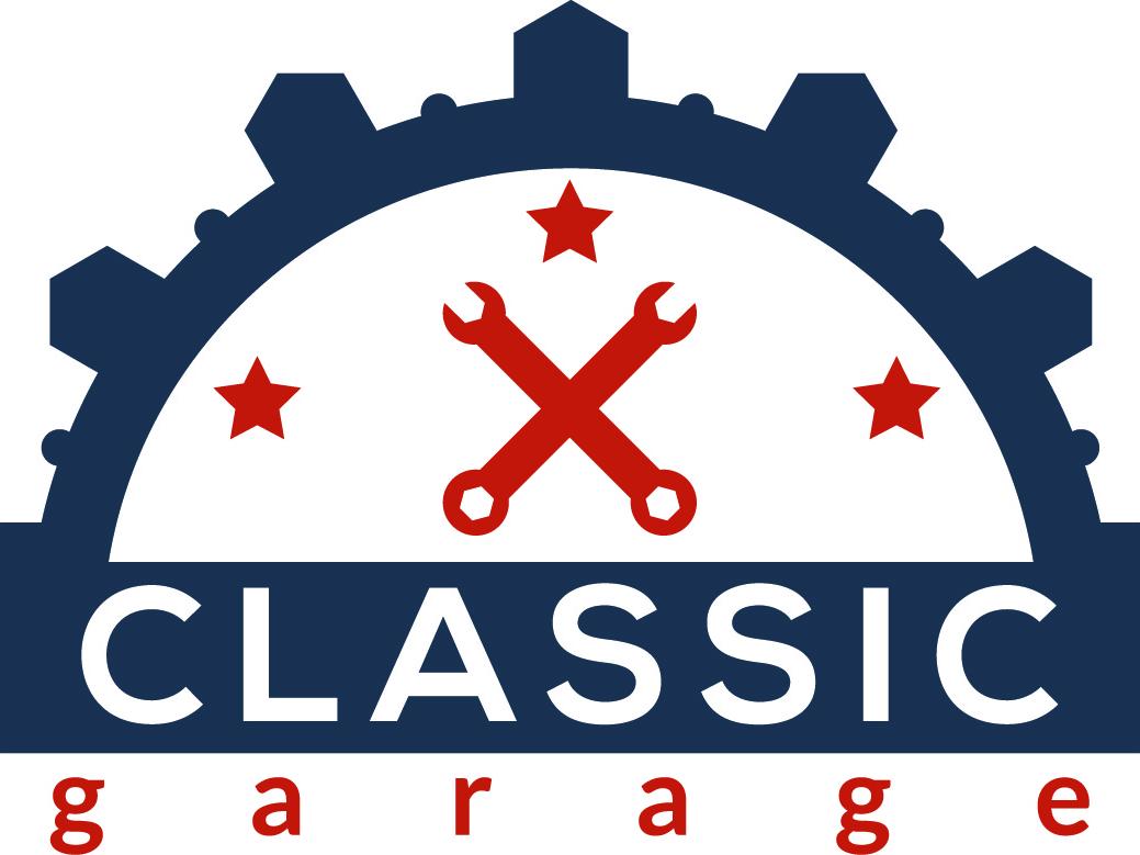 Garage Logo minimal illustration vector branding creative design flat icon logo logo design graphic design