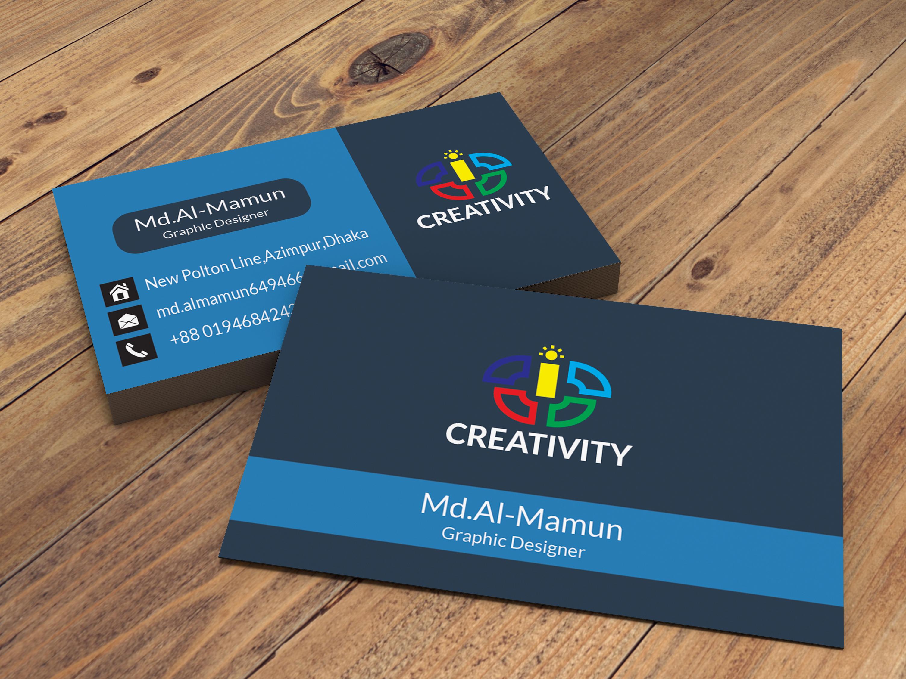 Business card design 2.4