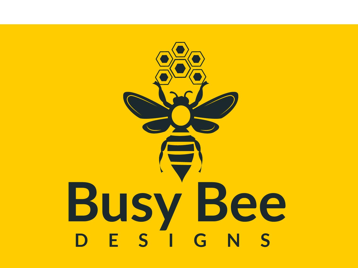 Bee Logo branding creative design market place company busines card photoshop market identity brand unique mordern minimal business vector flat icon logo design logo graphic design