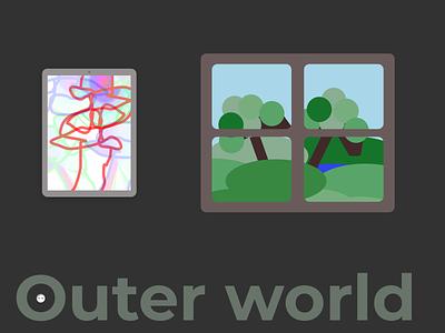 outer world illustration