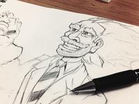 Mad Scientist - Sketch