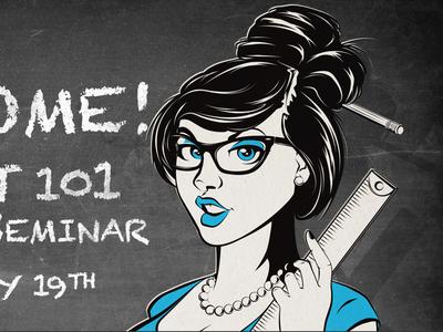 Hot For Teacher illustration teacher glasses blackboard chalkboard hot for teacher vector hot teacher sexy pinup
