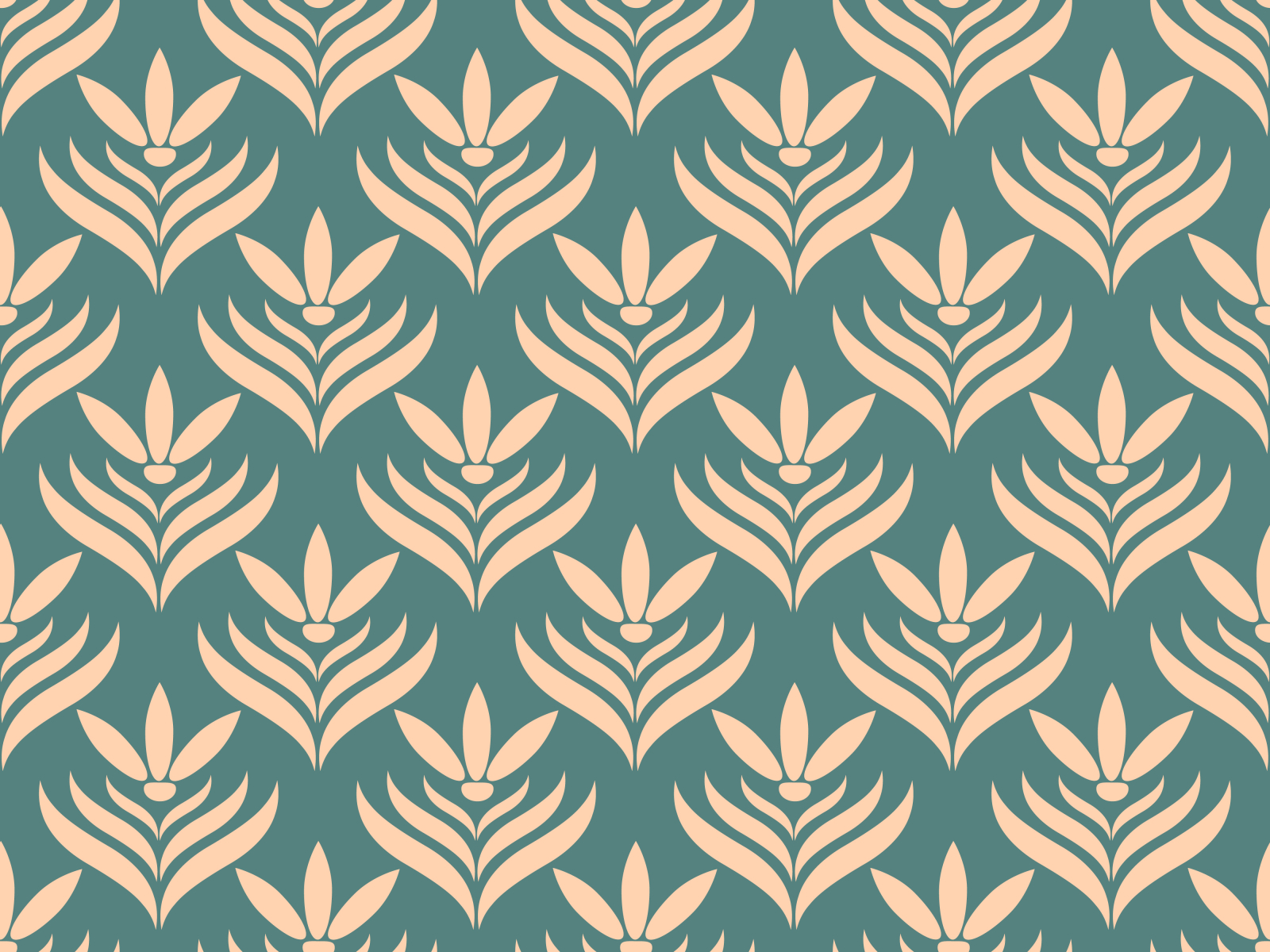 Seamless Floral Pattern By Margarita Starchenko On Dribbble