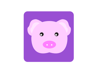 Year of the Pig illustration animal pig