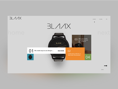 Blaax ... Not Apple Watch 😉 desigb interface user redesign ux watch apple blaax