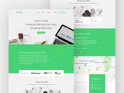 Financify 💰 | Branding & UI Design