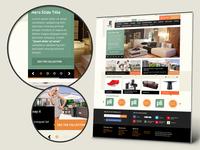 E Modern Furniture Store Design