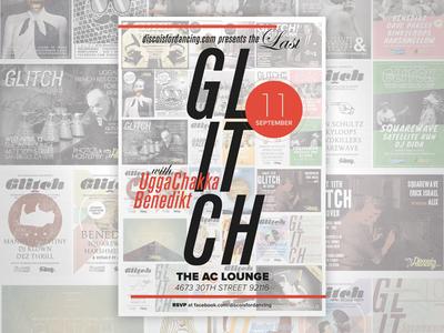 Last Glitch Flyer