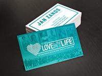 Team LOVEMYLIFE Business Cards