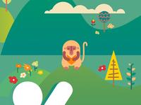 Math Chimp Illustration (sneak peek)
