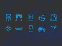 Icons for Guydes logo