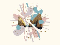 Shape Collage 013 - funk rock