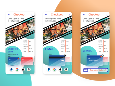 Checkout Flow for Movie Tickets