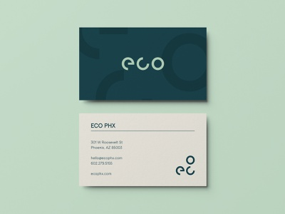 ECO Phoenix Brand Collateral logo apartment branding logodesign logotype typography business card design letterhead business card branding and identity graphic design design brand branding