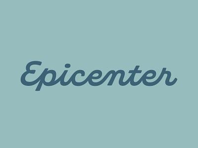 Epicenter Branding logo logotype logodesign typography brand graphic design branding design