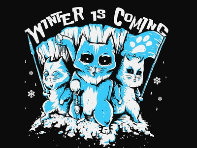 Cats White Walkers