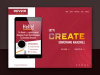 Revoir Design Homepage