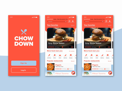 Chow Down - Working Prototype