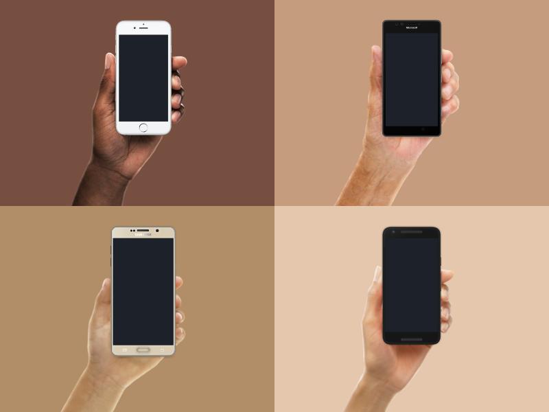 Design Resources - Diverse Hands Update download free diversity vector sketch device hands