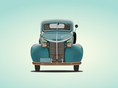 Old car vector classic car old retro old car illustrations