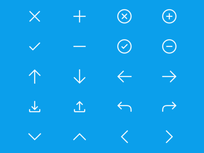 Directional + Operational Icon Kit