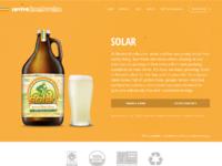 Brews desktop solar
