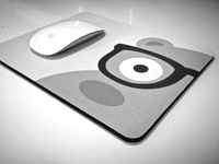 NerdyHippo Mousepad
