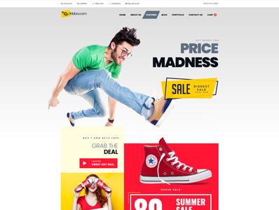 Free eCommerce PSD