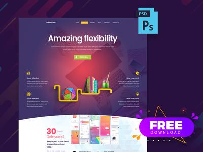 Free Creative PSD Template