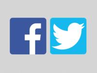 Facebook & Twitter - Sketch App