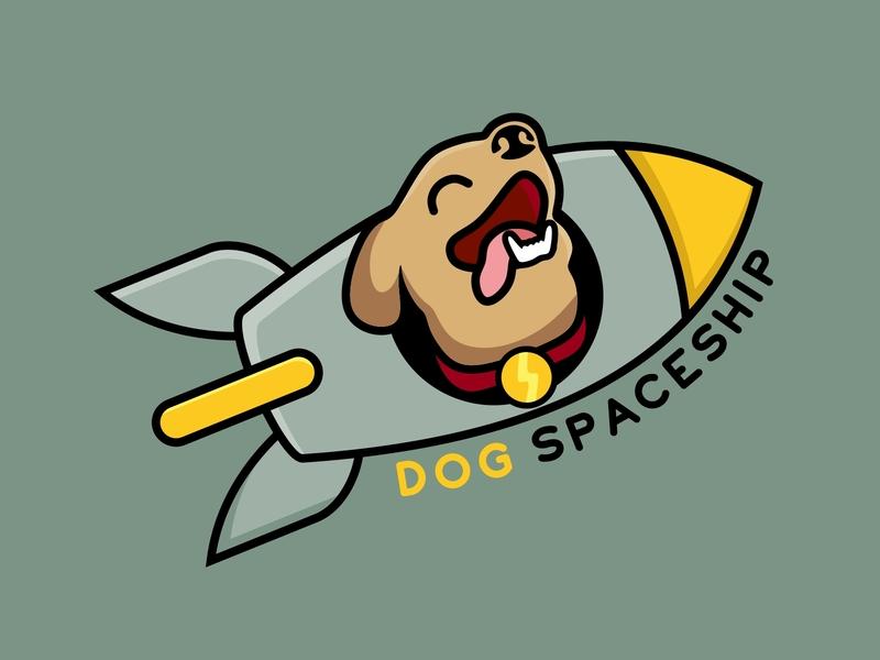 dogs on rocket