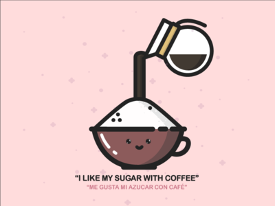 I like my sugar with coffee! ;D