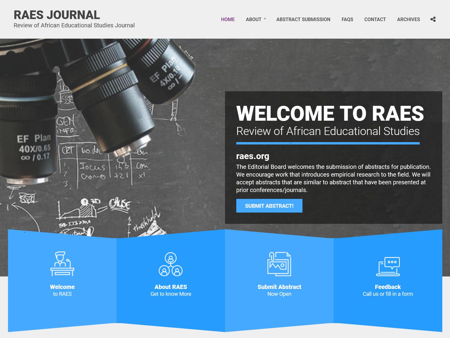 Raes Website webdesign wordpress design