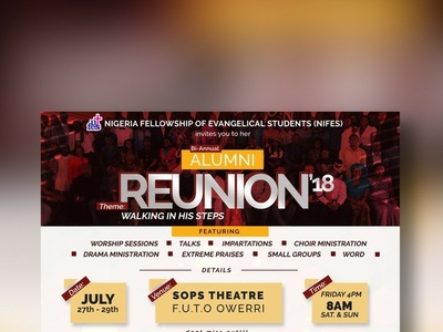 REUNION 2018 graphics collection graphics design coreldraw