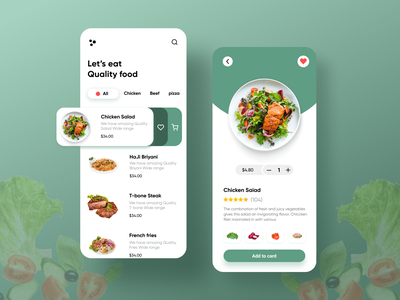 Food Delivery App Concept visual art color clean design food delivery service visual design food app food delivery application food delivery app app design ux design ux ui design ui