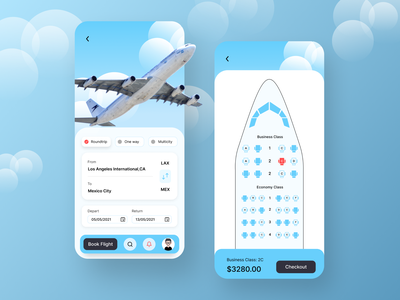 Flight Booking App - UI UX Design flight app flight book booking.com booking app booking system dribbble best shot webdesign iphone app flight booking flight booking app ios app design color ios app clean design clean ui ux ui ux design app design ui design