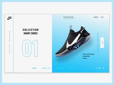 Nike Adapt BB Landing Page