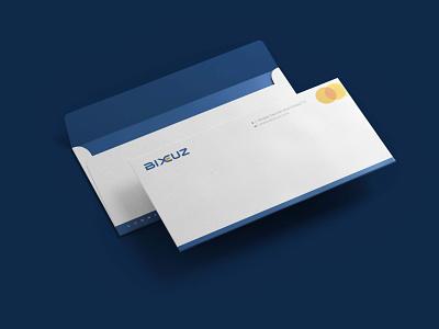 BIXCUZ - Envelope - A Platform for Consumers & SME's entrepreneurship malaysia logo sme platform bixcuz minimal branding
