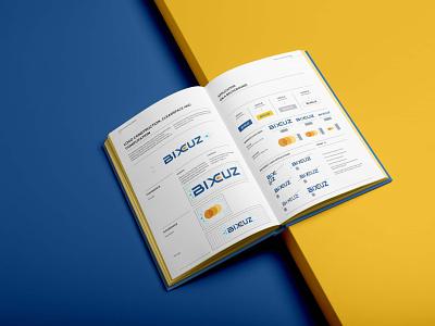 BIXCUZ - Brand Guidelines - A Platform for Consumers & SME's 02 entrepreneurship malaysia logo sme platform bixcuz minimal branding