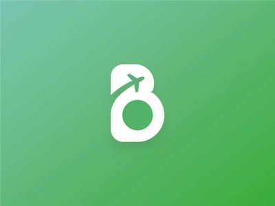 BonVoyage App Logo and Mockup  - Airport Assistance | Branding 1 iconic logo minimal branding