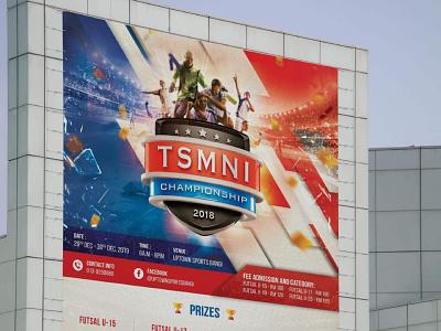 TSMNI Championship 2018 | Mockups annual sports event