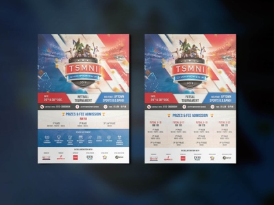 TSMNI Championship 2018 | Posters annual sports event