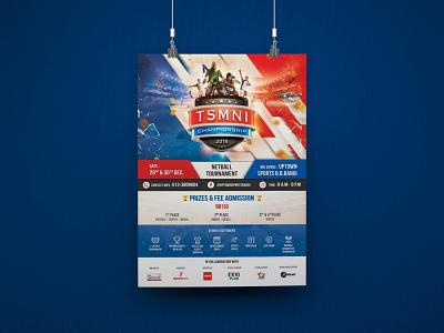 TSMNI Championship 2018 Posters