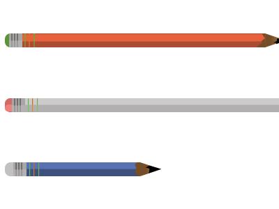 Pencils illustration sketch pencils