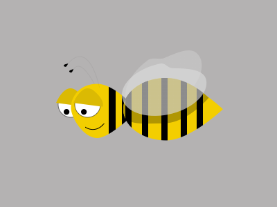 Bee sketch bee illustration